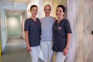 Gute Laune im Team von Dr. Irina Mayer