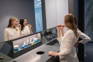 Dass Zahnpflege wichtig ist, lernen unsere kleinen Patienten in der Praxis